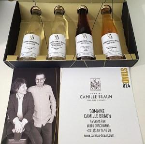 Domaine Camille Braun wines