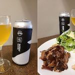 Mayne Island Brewing Co Pacific Gose and BBQ Pairing