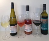 Nostalgia Wines Kerner, Rose, and Merlot wines