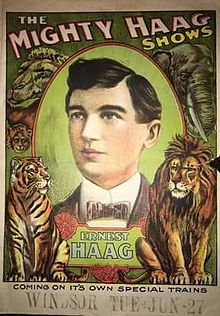 Touring In The Mighty Haag Show – 1911