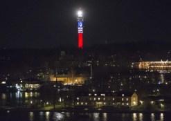 Stockholm-(Suède)-Kaknastornet-tour-TV