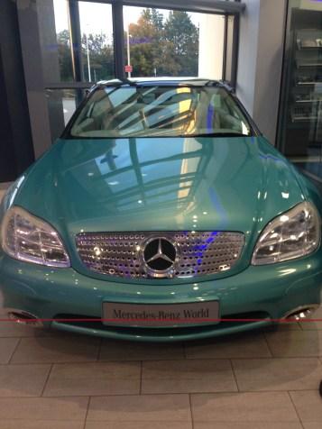 1996 Mercedes F200 Imagination concept car