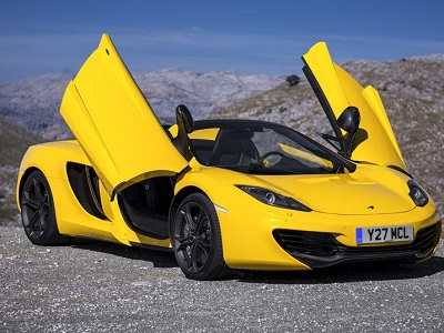 McLaren 12C Spider best selling sports cars in the world