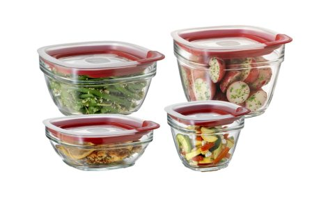 Top 10 Best Glass Food Storage Containers Reviews 2015