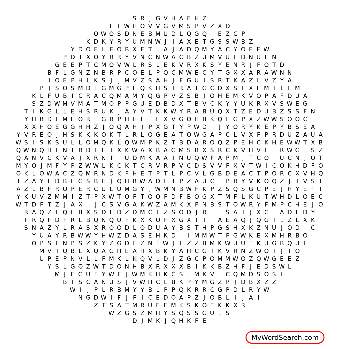 Goofy Gastropods Word Search