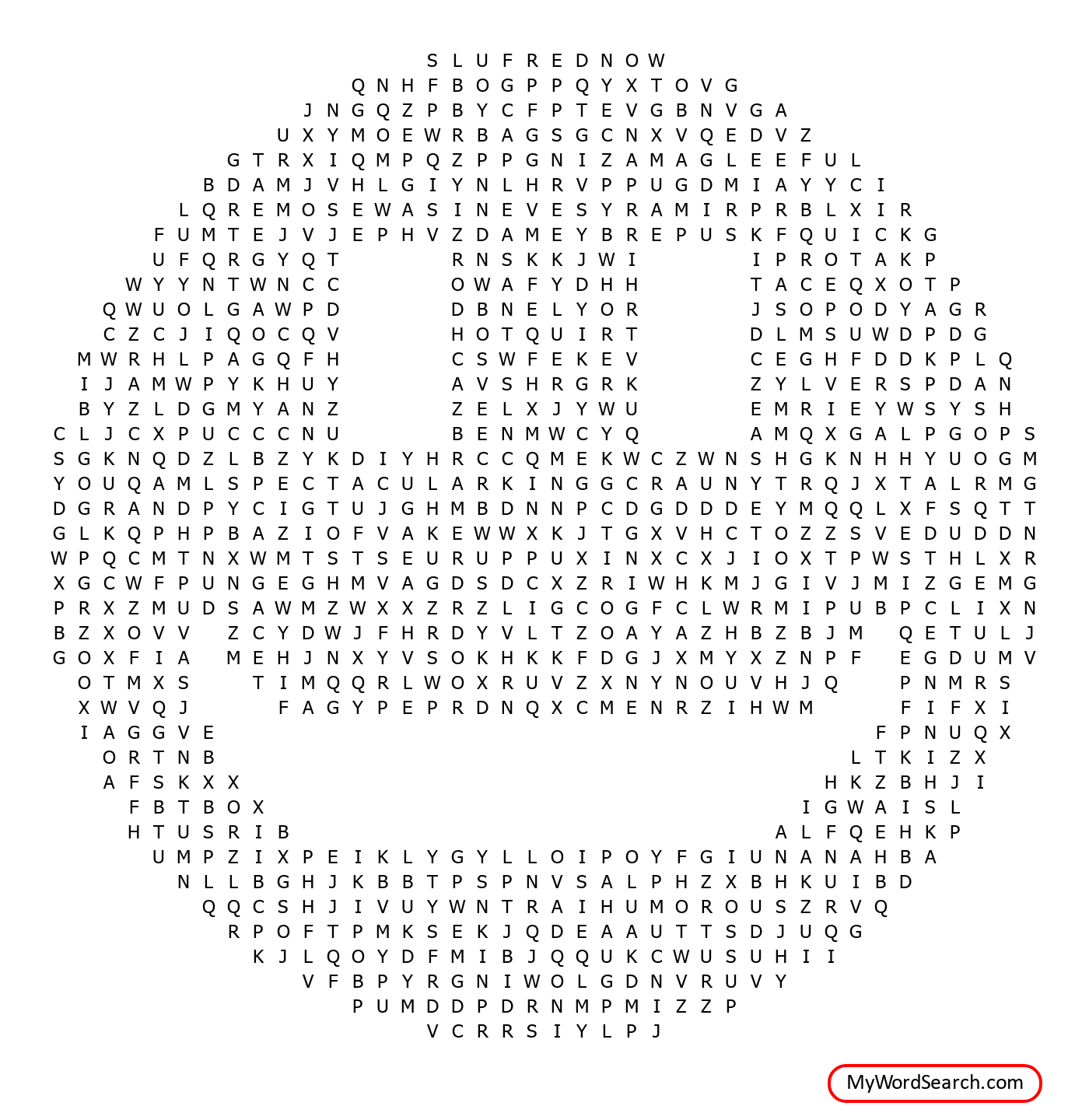 Happiness Day Word Search