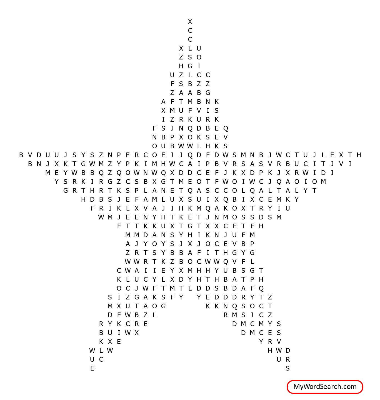 Saturn S Scrambled Word Search
