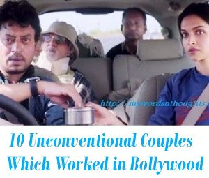 Unconventional Couples in bollywood films