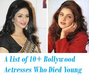 Bollywood Actresses Who Died Young