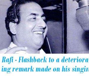 Mohammed Rafi E Dil Hai Mushkil Remark