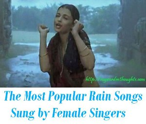 rain songs female voice