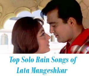 Top Solo Rain Songs of Lata Mangeshkar
