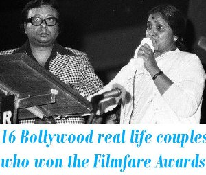 Bollywood real life couples who won Filmfare Awards