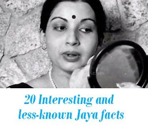 less-known Jaya facts
