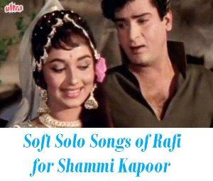 slow songs of shammi kapoor