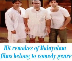 hindi remakes of malayalam films