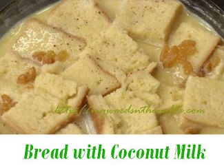 Bread with Coconut Milk