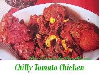Chilly Tomato Chicken