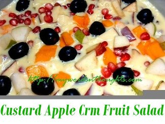 Custard Apple – Cream Fruit Salad