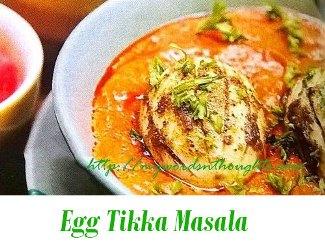 Egg Tikka Masala
