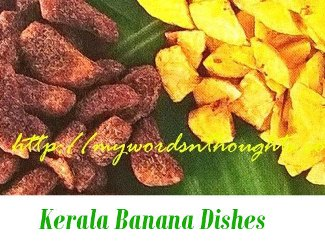 Kerala Banana Dishes