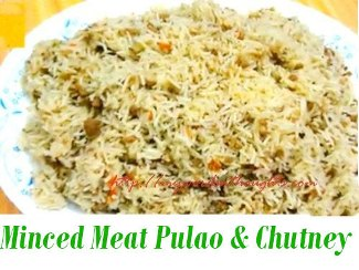 Minced Meat Pulao