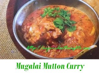 Mugalai Mutton Curry