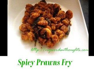 Spicy Prawns Fry