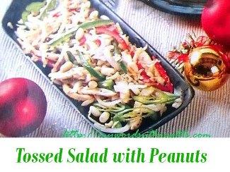 Tossed Salad with Peanuts