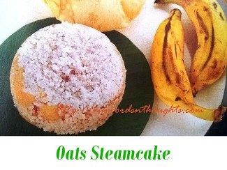Oats Steamcake