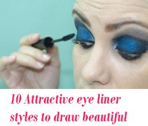 Attractive eye liner styles