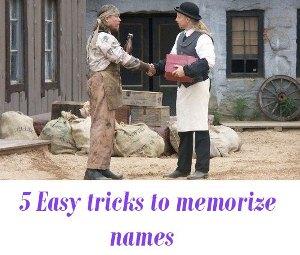 memorize names