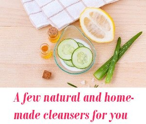 natural and homemade cleansers