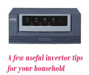 invertor tips use