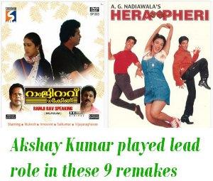 Akshay Kumar in remakes of Malayalam cinema