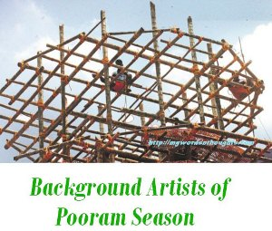 workers of Pooram Season