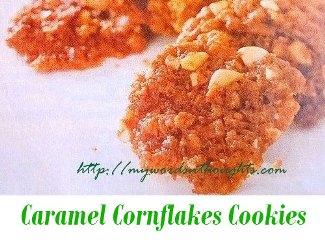 Caramel Cornflakes Cookies