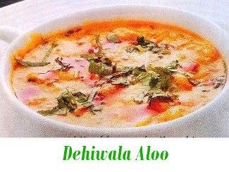 Dahiwala Aloo