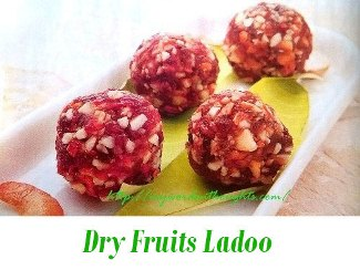 Dry Fruits Ladoo