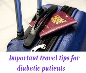 travel tips for diabetic patients