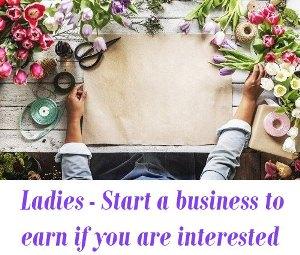 best start ups for ladies