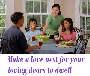 a love nest for your loving dears