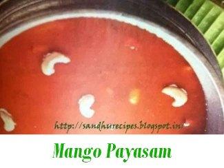 Mango-Payasam