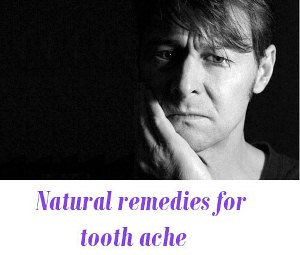 Natural remedies for tooth pain
