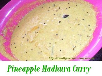 Pineapple Madhura Curry