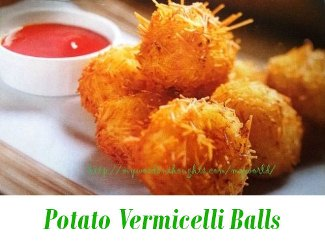 Potato Vermicilli Balls