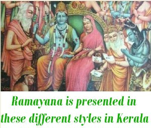 Ramayana different styles
