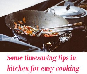 time saving tips in kitchen