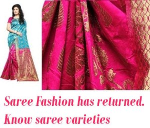 Know different saree types