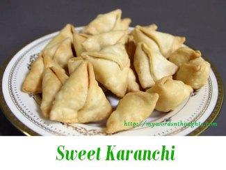 Sweet Karanchi